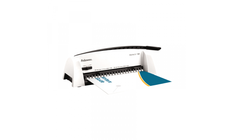 Fellowes Starlet 2 Comb Binding Machine, Binds 120 Pages & Punches 12 Pages (New Lower Price for 2021)