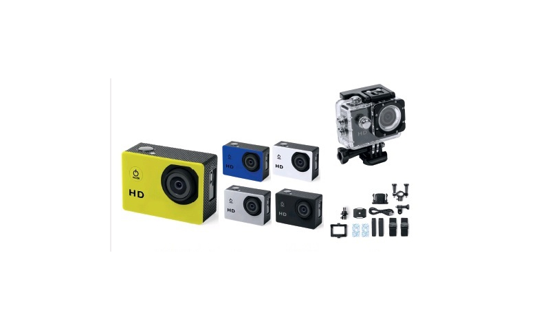 Ëynsteyn Outdoor Action Multifunction Camera with 14 Accessories