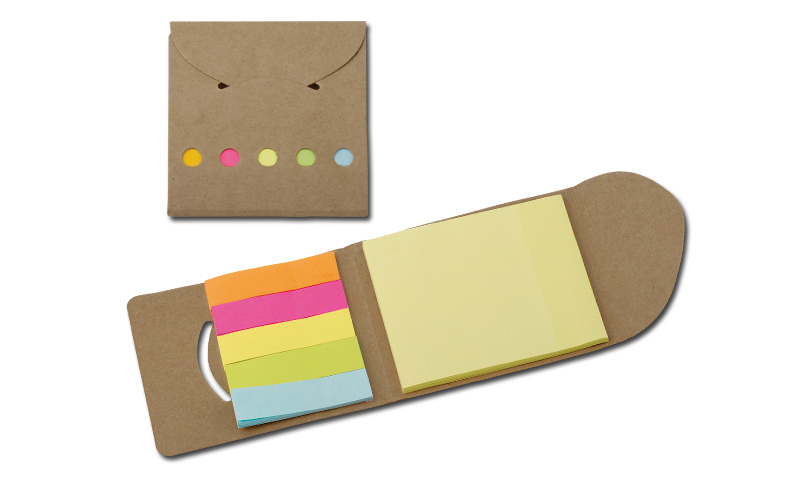 DEVITO Promo Eco Sticky Notes Set