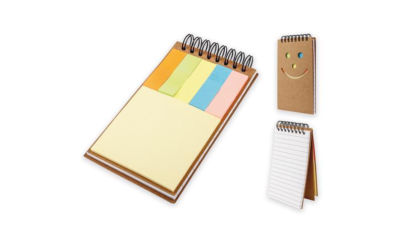 OKI  Branded Eco Notepad & Sticky Notes