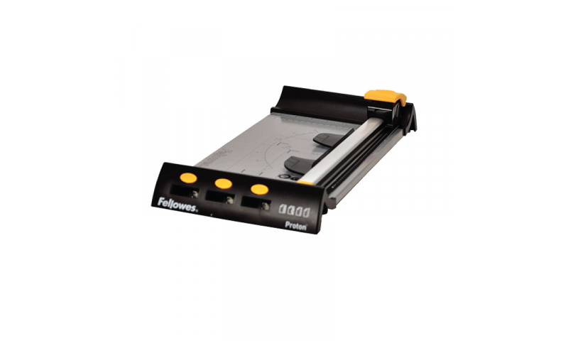 Fellowes Proton A4 Trimmer, Cutting Length 320mm 10 Sheet Capacity, 2 Year Warranty (New Lower Price for 2021)