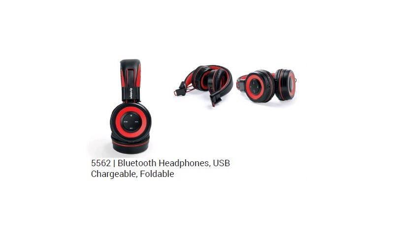Ëynsteyn Bluetooth Padded, Folding Headset, USB Chargeable