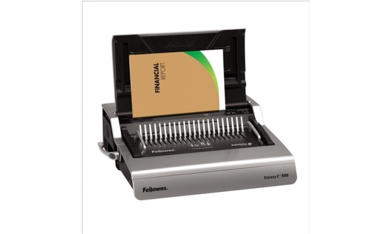 Fellowes Galaxy Electric Heavy Duty Comb Binding Machine, 25 Sheet Cap (New Lower Price for 2021)