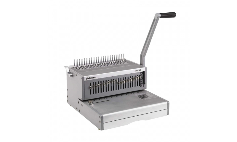 Fellowes Orion 500 Heavy Duty Steel Comb Binding Machine. (New Lower Price for 2021)
