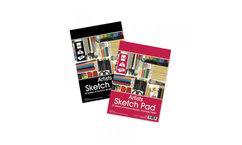 ArtBox Sprial A3 Artists Sketch pad, 90gsm Paper - 20 Sheet