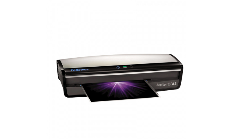 Fellowes Jupiter 2 Office Laminator, Heavy Duty, A3 Size. Fast 4 Pouches per minute! (New Lower Price for 2021)