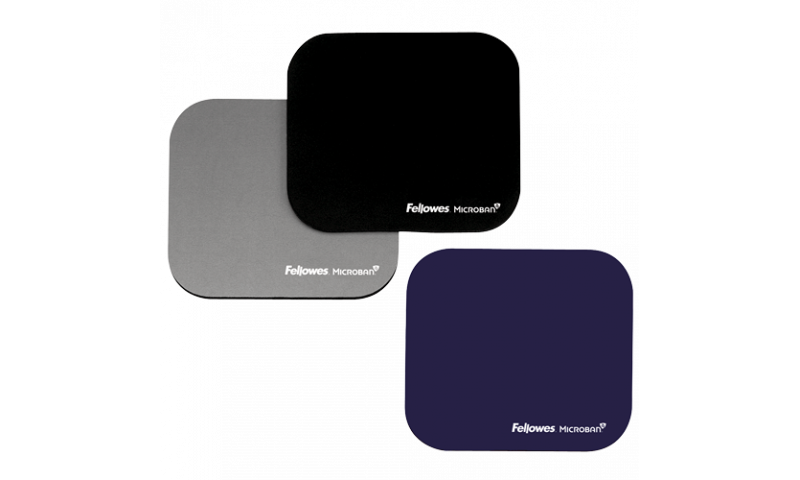 Fellowes Mousepad with Microban® Antibacterial Protection - 3 Colours available (New Lower Price for 2021)