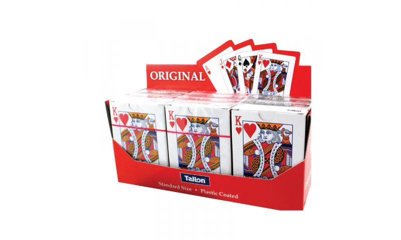 Playing Cards, Plastic Coated, in Display box