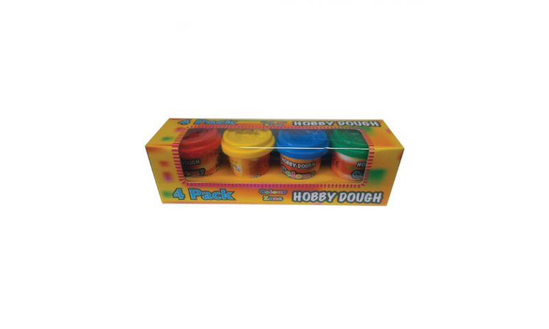 Hobby dough, Small 4x30g  Tub Pack,  (New Lower Price for 2021)