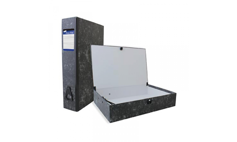 Just Stationery Rigid Box File with Springclip F/Cap