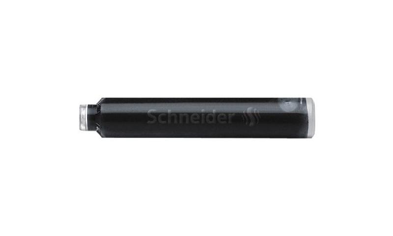 Schneider European Ink Cartridges, box of 6  black