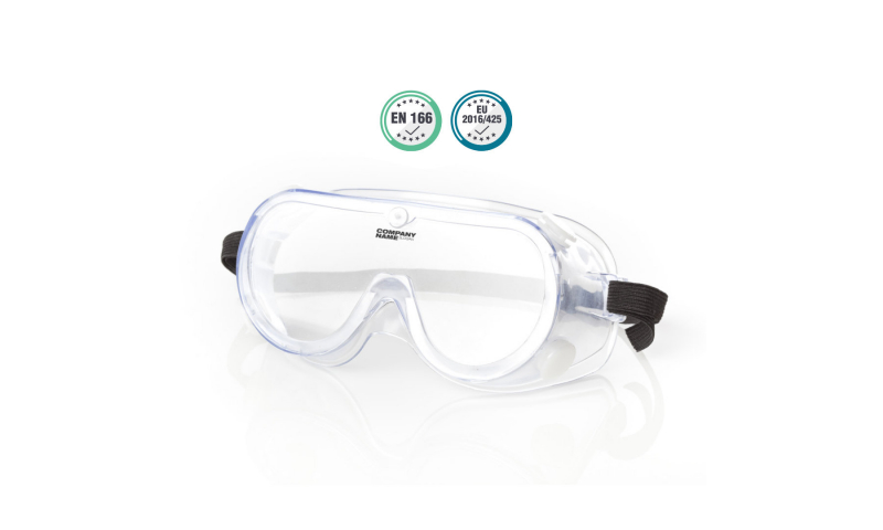 Safety Protection Goggles Clear with Anti Fog (Now in stock)