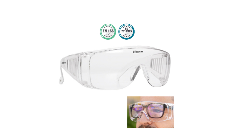Safety Protection Glasses - Clear Anti Fog (Now in Stock)