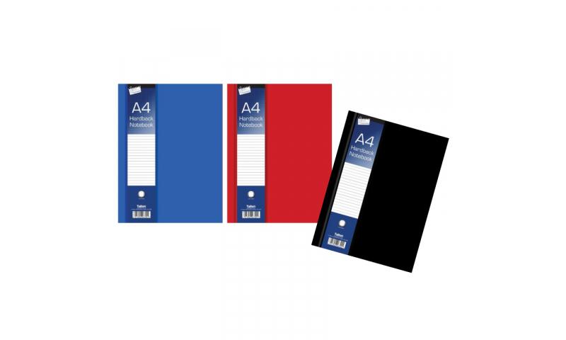 Just Stationery A4 Hardback Ruled Notebook