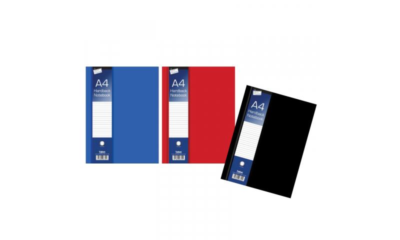 Just Stationery A5 Hardback Ruled Notebook