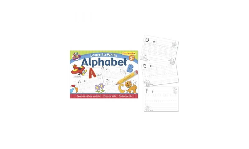 Beginner Learning to Write your Letters Book A4