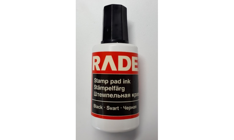 Radex Stamp Pad Refill Endorsing Ink 20ml - 3 colours available ( New Lower Price for 2021 -50% off Trade Price)