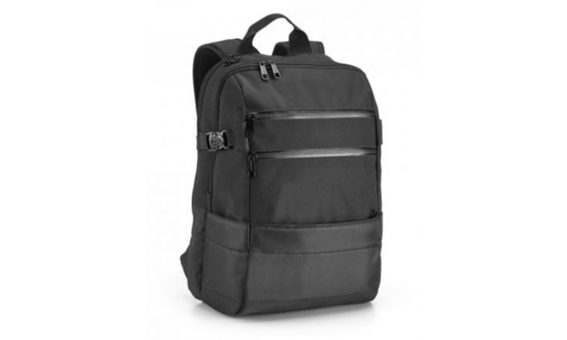"Santani Polyester Padded backpack, 15.6"" Laptop, 9 Additional Pockets, 30 Litre Cap, 48x33x20cm"