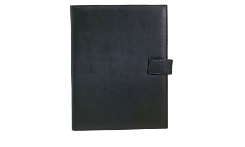 Santini Document Portfolio, Imitation Leather & Polyester 300D, Lined Notepad A4, 20 Sh. & Magnet Closing,