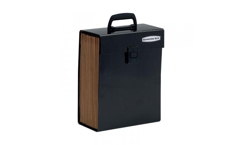 Fellowes Handifile Expanding Organiser - Vertical Format  Black. (New Lower Price for 2021)