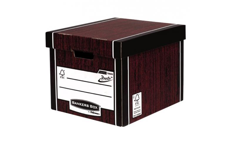 Fellowes R-Kive Presto Tall Storage Box ,Premium Series , 4 colour options