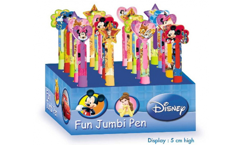 Disney Fun Jumbo Ballpen 8 Asstd