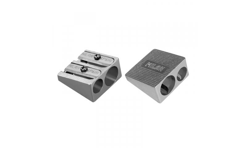 Milan Metal Aluminium Double Sharpeners (New Lower Price for 2021)
