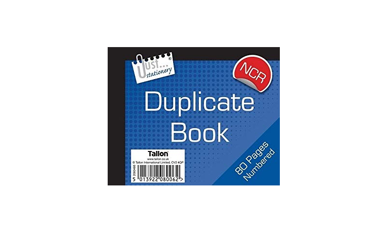 Just Stationery NCR Duplicate Book 5x4, 80 page