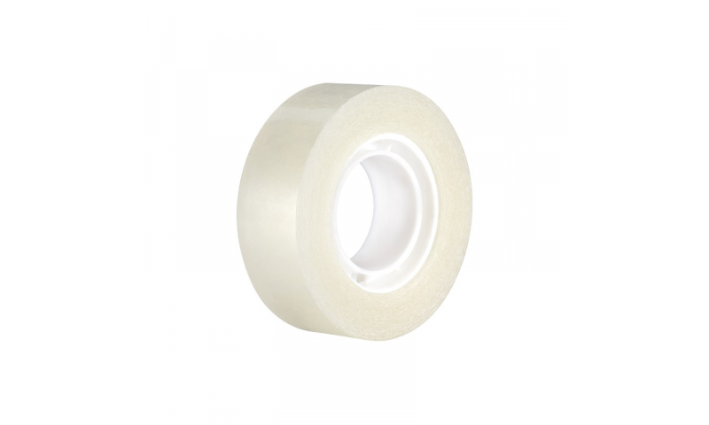 MILAN Invisible Shiny adhesive tape 19 mm x 33 m. Single Wrap (Best Value Product)