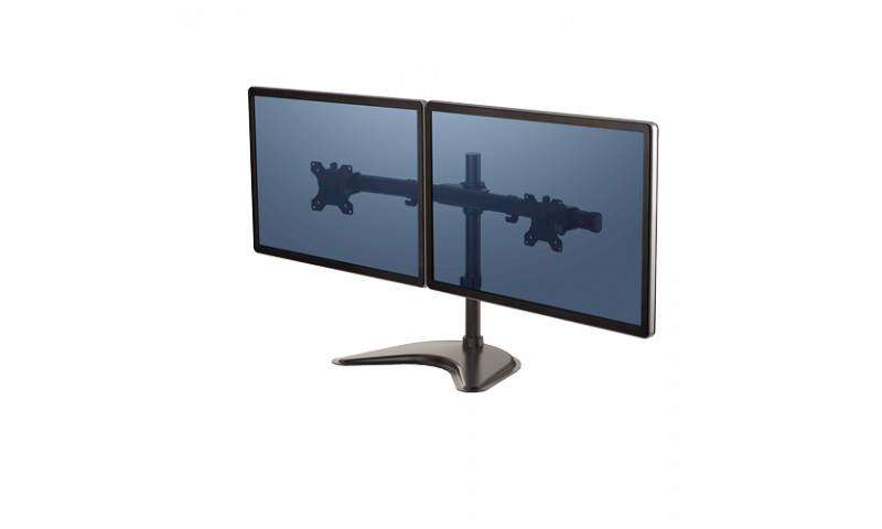 Fellowes Professional Series Freestanding Dual Horizontal Monitor Arm (New Lower Price for 2021)