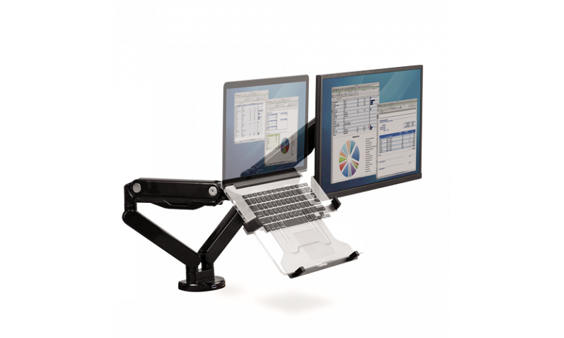 Fellowes Laptop Arm Multi-accessory Support (New Lower Price for 2021)
