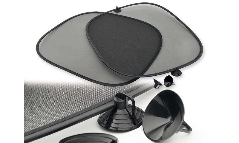 SHADY Promotional Set of Two Sun Shades for Car