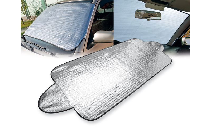 SHIELD Branded Protection Foil for Front Window of Car
