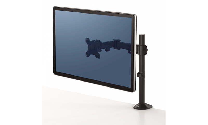 Fellowes Reflex Single Clamp on Monitor Arm (New Lower Price for 2021)