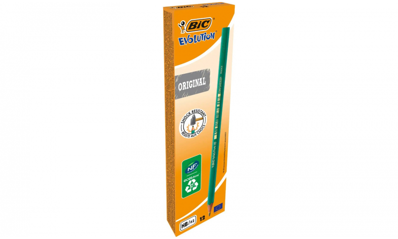 BIC Evolution Eco HB Wood-Free Pencils - Box of 12