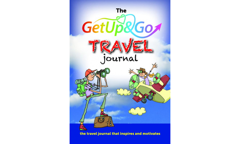 Get Up & Go A5 Softcover Travel Journal, undated