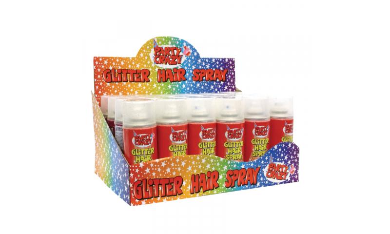 ArtBox Glitter Hair Spray can - Asstd Colours