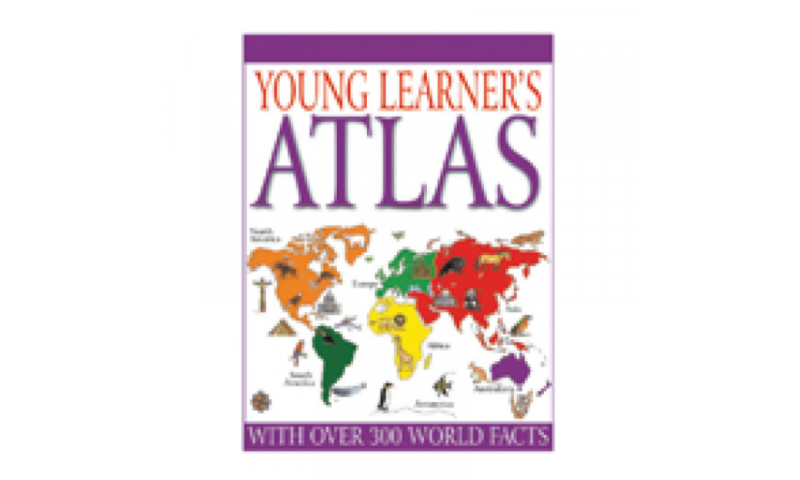 Childrens Books Young Learners Atlas Casebound Book