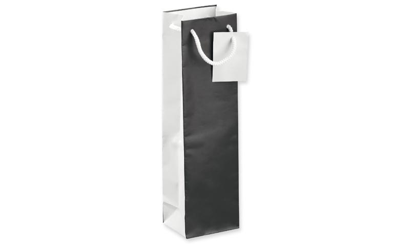 LEONA I Branded Paper Gift Bag for Wine Bottle