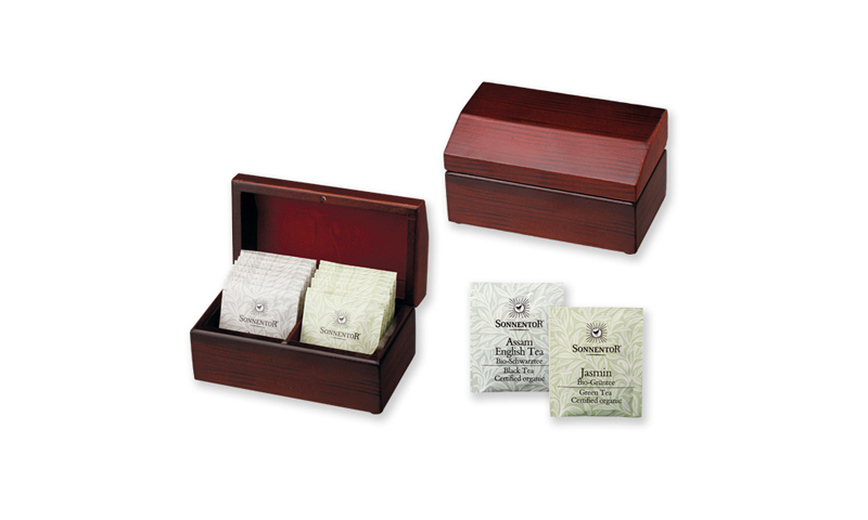 STEAM Branded Set of Tea Bags in Wooden Gift Box