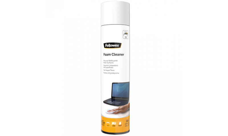 Fellowes 400ml Foam Cleaner Spray can (New Lower Price for 2021)
