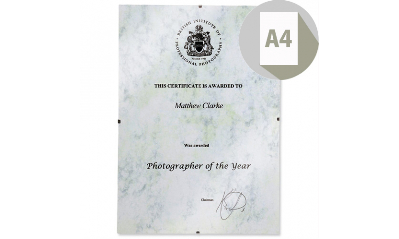 A4 Acrylic Clip Frame for Certificates & Office Use