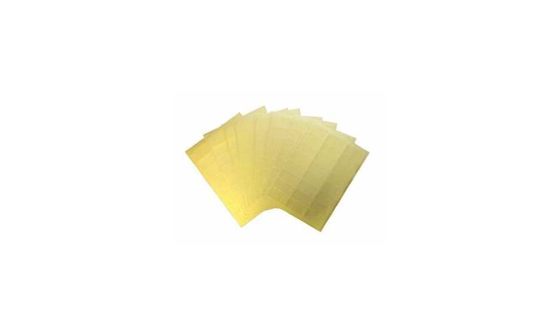 Hovat 65 per Sheet Gold Gloss Laser Labels 100 sheets per Box.