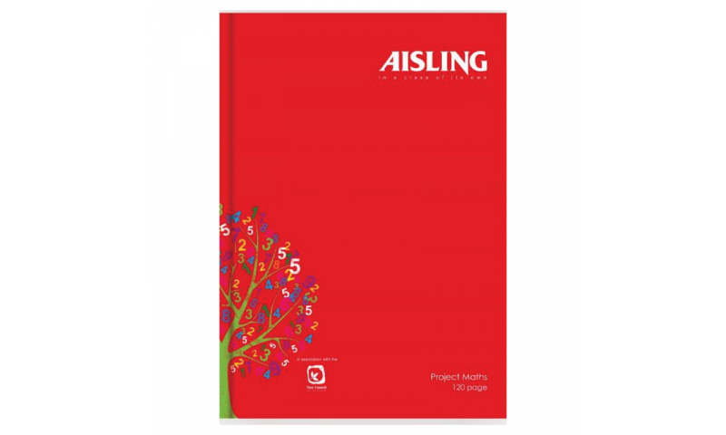 Aisling A4 Casebound Ruled Book 160page F&M
