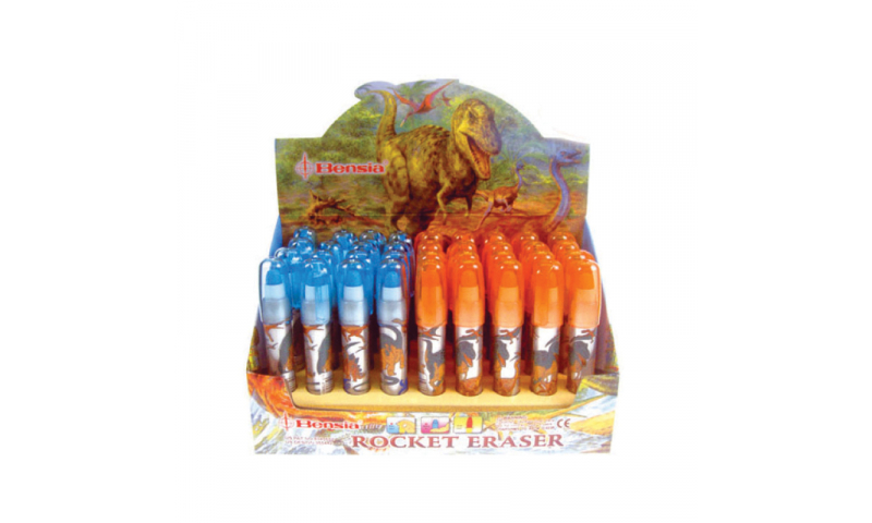 Novelty Dino Jumbo Pop-A-Eraser