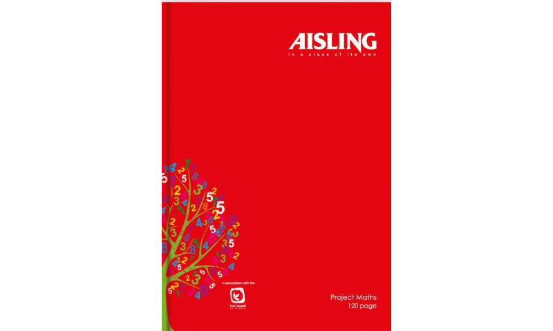 Aisling A4 Hardcover Book 120 Page Project Maths.