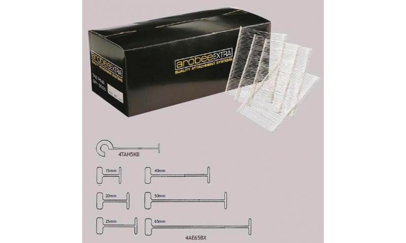 Lynx  Arobee Tag Attachments, 15mm, Box of 5000