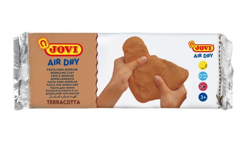 JOVI Air Drying Modelling Clay -500g Terracotta