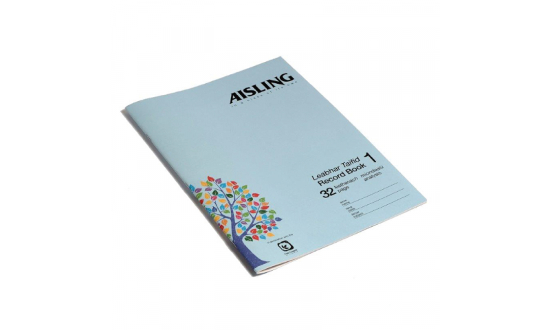 Aisling A4 Business Studies Book 1, 32 page, Analysis Book