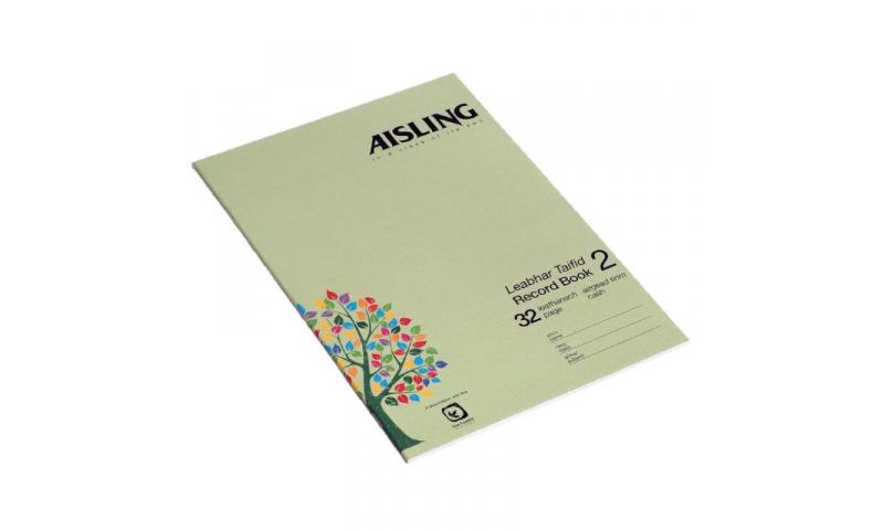 Aisling A4 Business Studies Book 2, 32 page, Cash Book